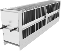 Atrea Vestavný elektrický dohřívač a předehřívač sdigitální regulací CP