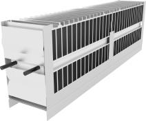 Atrea Vestavný elektrický dohřívač a předehřívač sdigitální regulací RD5 a RD5.CF