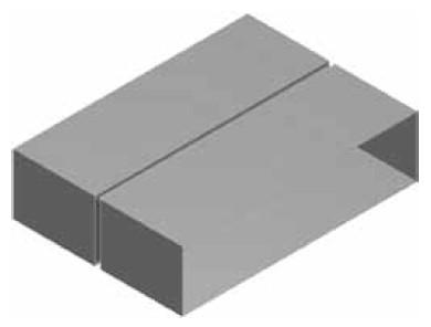 Atrea KSP Kanálová spojka přímá 160x40 R120331