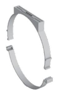 Atrea Plastový kruhový závěs průměr 100mm