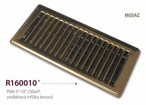 Atrea Podlahová mřížka kovová PMK 250x97 mm
