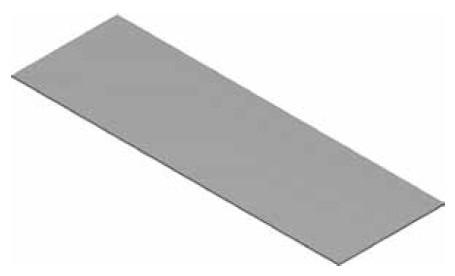 Atrea PPP 155x40 Podložný plech pod podlahové kanály 160x40 pozink tl.0,6mm R120941