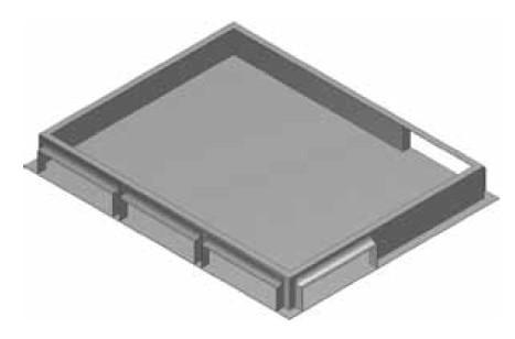 Atrea RKJ Rozdělovací komora 500 x 400 pod jednotku nebo PKJ 500x400 R111041