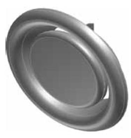 Atrea Talířový ventil odtah vzduchu včetně rámečku KO
