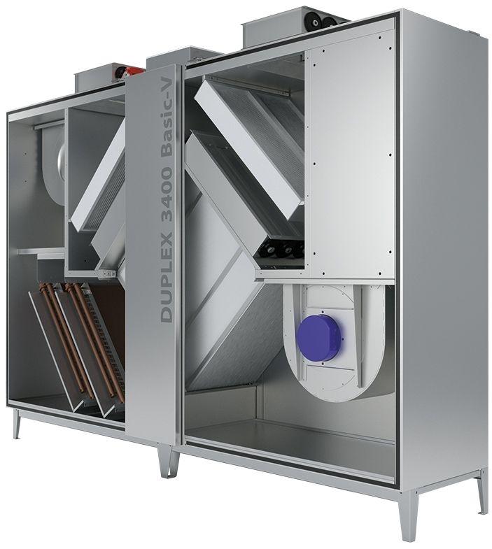 Atrea Větrací jednotka s rekuperací tepla DUPLEX 1400 – 10100 Basic-V