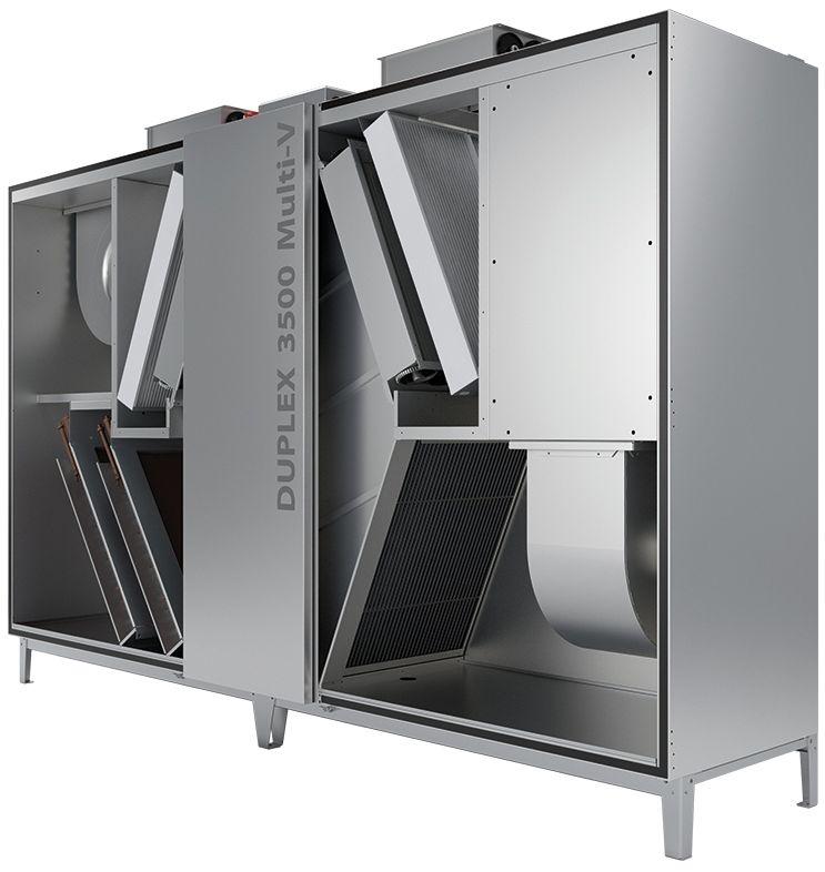Atrea Větrací jednotka s rekuperací tepla DUPLEX 1500 – 8000 Multi-V